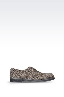 Armani Lace-up shoes Men runway brogue in perch skin