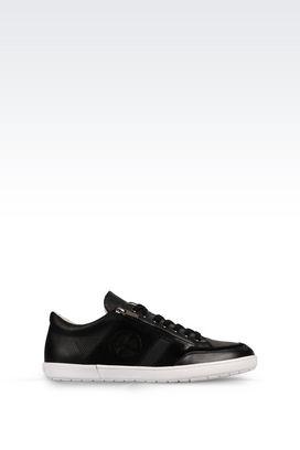 Armani Sneakers Men calfskin sneaker