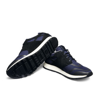 ZZEGNA: Sneakers Blue - 44992534BW