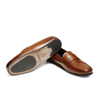 ERMENEGILDO ZEGNA: Loafers Brown - 44992536QC