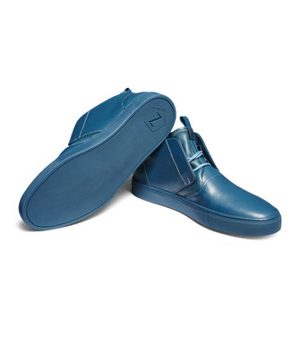 ZZEGNA: Sneakers Blu china - 44992539BK
