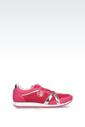 Armani Sneakers Für sie sneaker aus leder und funktionsmaterial