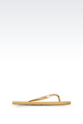 Armani Sandalen Für sie dianetten aus pvc