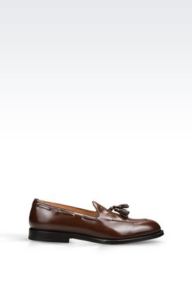 Armani Loafers Men calfskin loafer