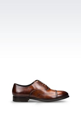 Armani Lace-up shoes Men calfskin brogue