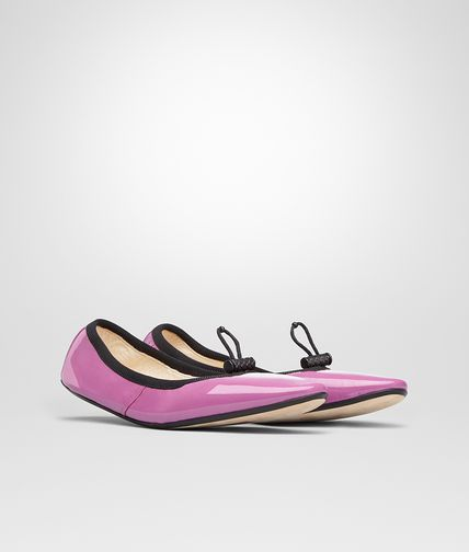 BALLERINA IN PEONY PATENT CALF Online Boutique Exclusive