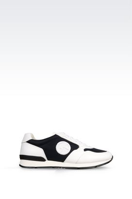Armani Sneakers Men leather sneaker