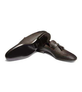 ERMENEGILDO ZEGNA: Loafers Dark brown - 44999678VC