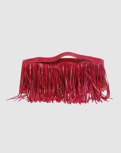 PINKO Women - Handbags - Medium leather bag PINKO on YOOX :  leather bags accessories bag