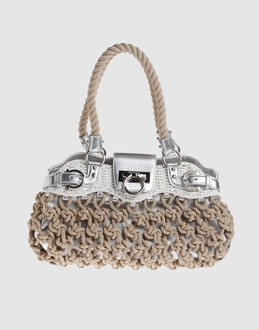 SALVATORE FERRAGAMO Women - Handbags - Large leather bag SALVATORE FERRAGAMO on YOOX :  bag womens fashion clothing salvatore ferragamo accessories