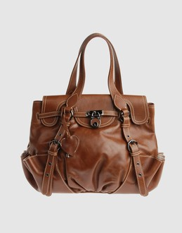MOSCHINO Women - Handbags - Large leather bag MOSCHINO on YOOX from yoox.com