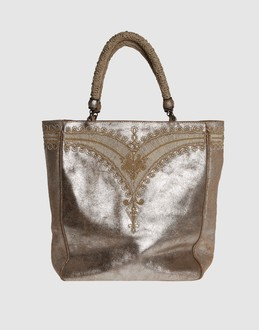 ERMANNO SCERVINO Women - Handbags - Medium leather bag ERMANNO SCERVINO on YOOX :  medium fabric bag yoox large designs