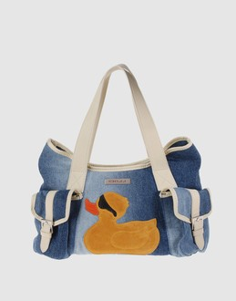GILLI Women - Handbags - Medium fabric bag GILLI on YOOX