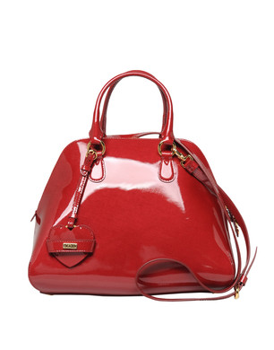 Medium leather bag Women - Handbags Women on Moschino Online Store