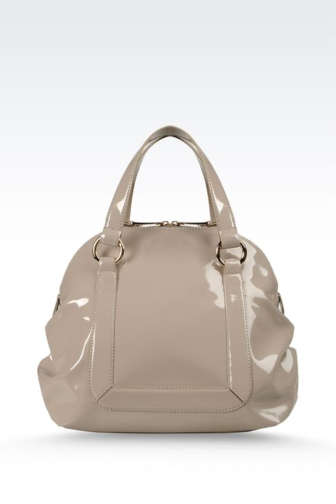 Handbag with zipper and detachable shoulder strap: Baby tote bags Women by Armani - 2