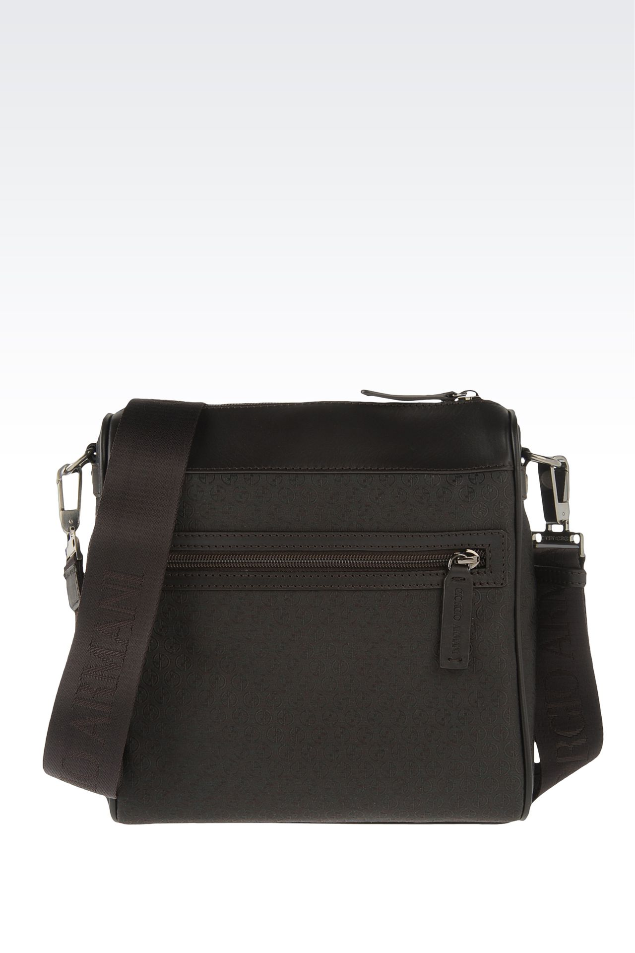 Bags: Messenger bags Men by Armani - 0