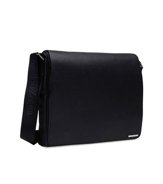 ERMENEGILDO ZEGNA: Shoulder bag Black - 45166673MQ