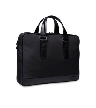 ZZEGNA: Office and laptop bag Black - 45166682HI