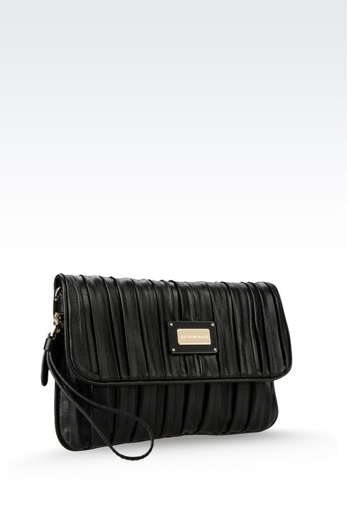 Bags: Clutches Women by Armani - 3