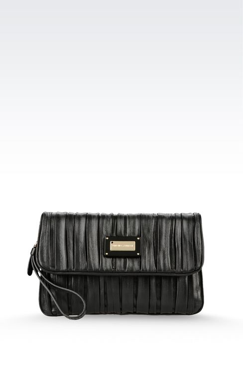Bags: Clutches Women by Armani - 1