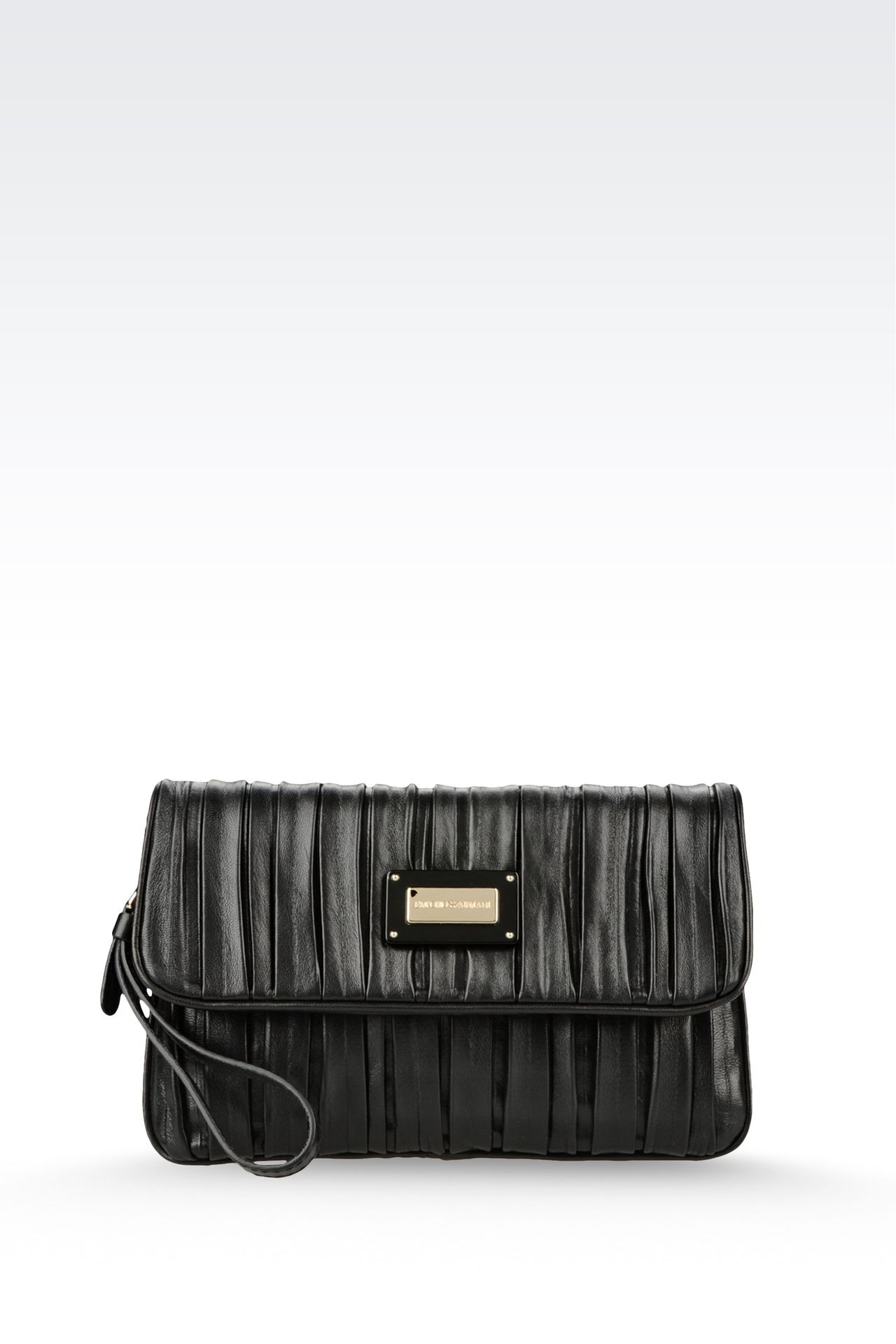 Bags: Clutches Women by Armani - 0