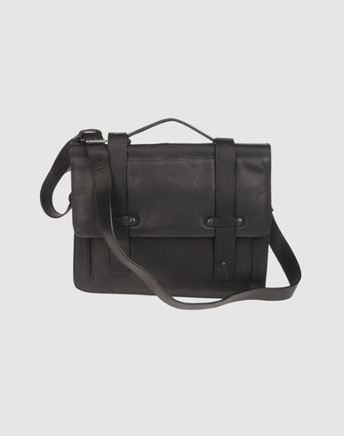 AMERICAN RETRO - Medium leather bag