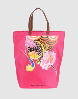 PHILOSOPHY DI A. F. - СУМКИ - Большие сумки из текстиля
