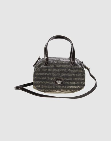 EMPORIO ARMANI - Small fabric bag