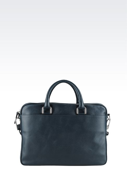 Bags: Briefcases Men by Armani - 2