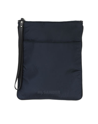 JIL SANDER NAVY - Medium fabric bag