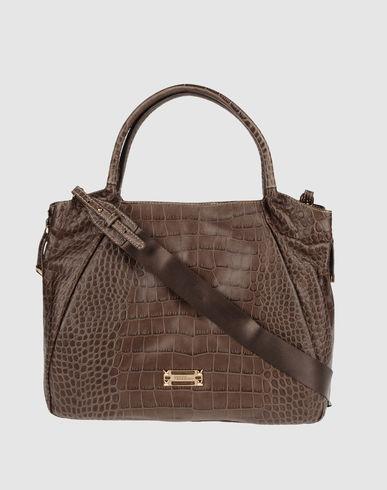Большая кожаная сумка FERRE' Для Женщин on YOOX.COM.