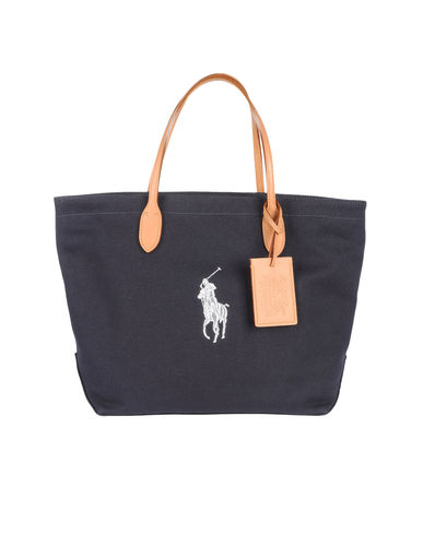RALPH LAUREN - Medium fabric bag