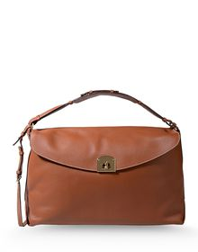 Large leather bag - SERGIO ROSSI