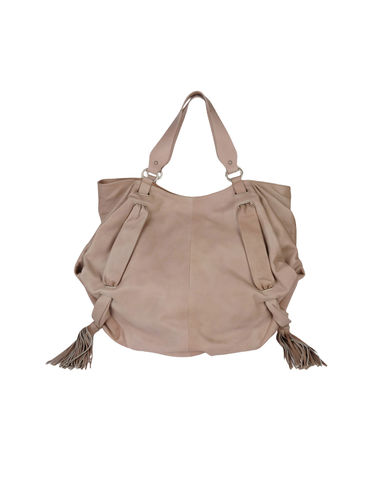 COSTUME NATIONAL - Large leather bag