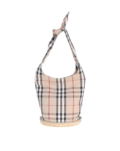 BURBERRY - Small fabric bag