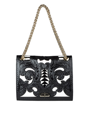 Medium leather bag Women's - BALMAIN
