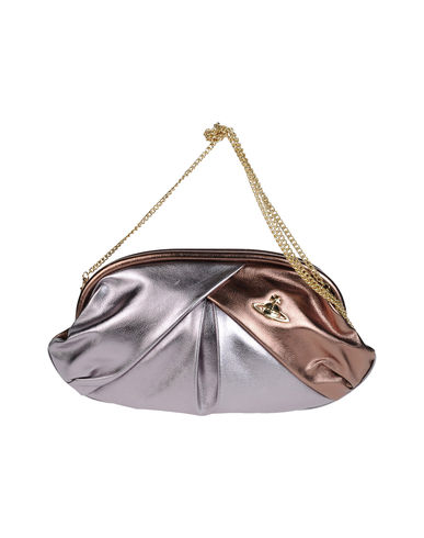 VIVIENNE WESTWOOD - Large leather bag