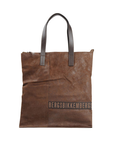 BIKKEMBERGS - Large leather bag