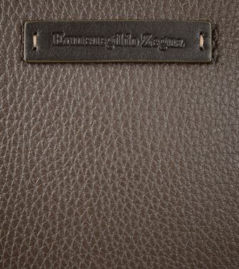 ERMENEGILDO ZEGNA: Office and laptop bag Dark brown - 45178671KO