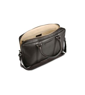 ERMENEGILDO ZEGNA: Office and laptop bag Khaki - Dark brown - 45178671OJ