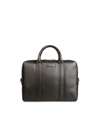 ERMENEGILDO ZEGNA: Office and laptop bag Black - Blue - 45178671OJ