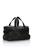 ALEXANDER WANG WALLIE DUFFLE IN BLACK GOATSKIN WITH MATTE BLACK Travel Adult 8_n_r
