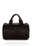ALEXANDER WANG ROCCO IN BLACK DUMBO WITH BLACK NICKEL Shoulder bag Adult 8_n_f