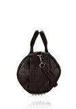 ALEXANDER WANG ROCCO IN BLACK DUMBO WITH BLACK NICKEL Shoulder bag Adult 8_n_r
