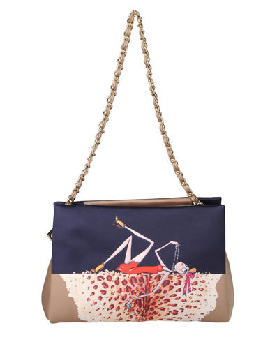 LOVE MOSCHINO - Small fabric bag