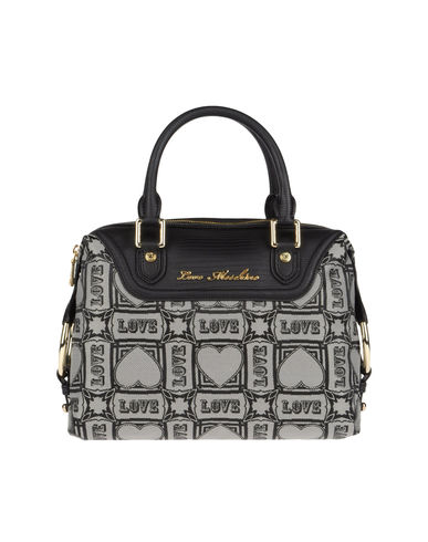 LOVE MOSCHINO - Medium fabric bag