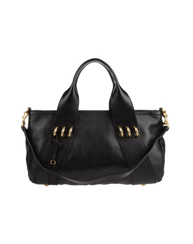 ALEXANDER MCQUEEN - Large leather bag