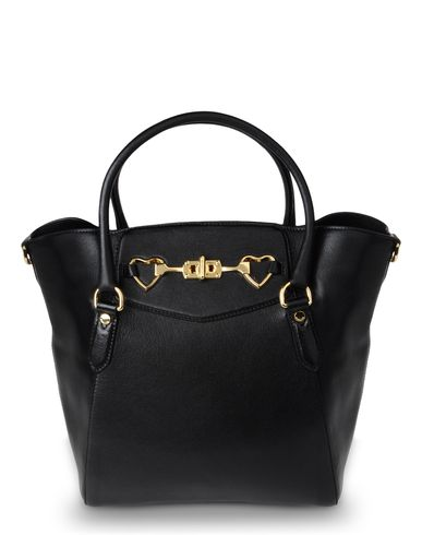 Moschino, Large leather bag