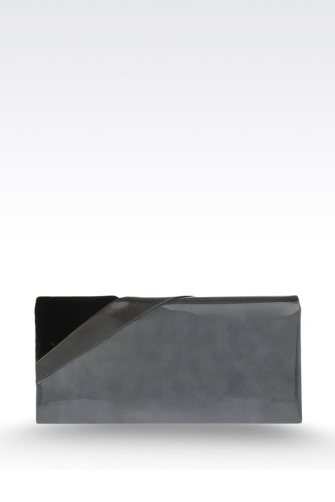 Jewel clutch with contrasting details: Clutch bags Women by Armani - 2