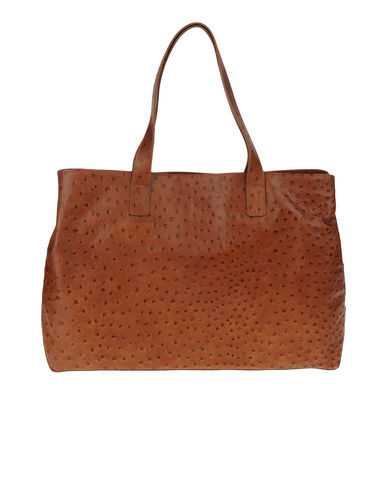 SECRET PON-PON - Large leather bag